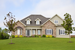 Brick Home With Green Lawn Marietta